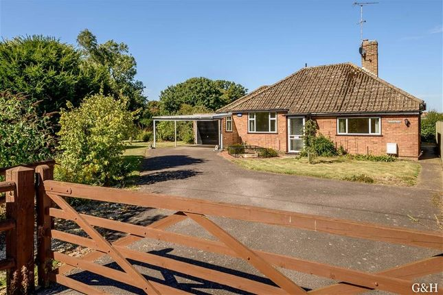 Thumbnail Detached bungalow for sale in Steeds Lane, Kingsnorth, Ashford