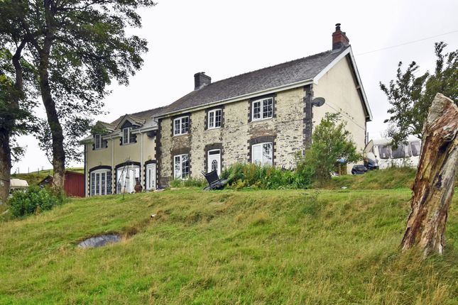 Thumbnail Detached house for sale in Tylwch, Llanidloes