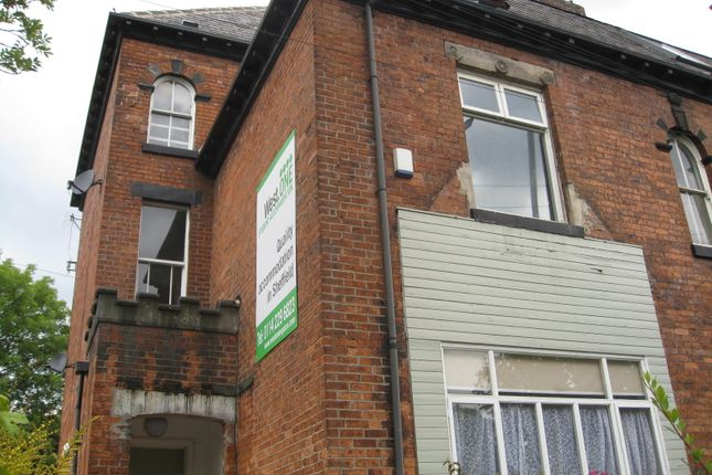 Thumbnail End terrace house to rent in Upper Hanover Street, Sheffield