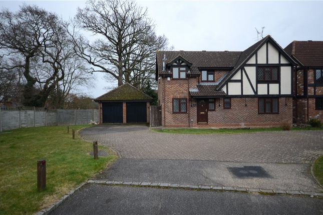 Thumbnail Detached house for sale in Bacon Close, College Town, Sandhurst
