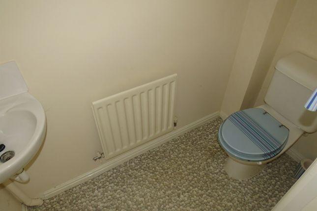 Guest Cloakroom: of Oakden Close, Bramshall, Uttoxeter ST14