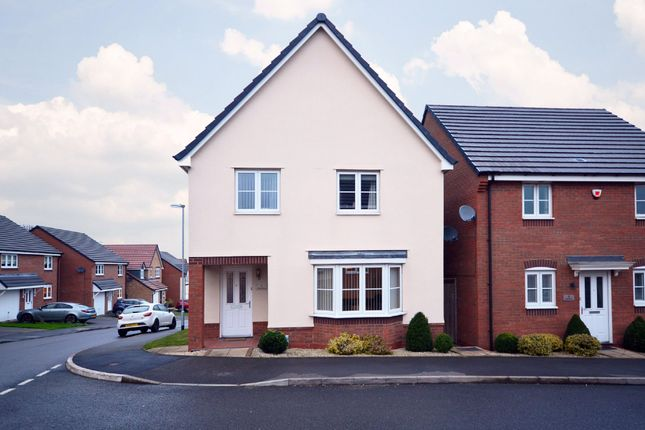 Thumbnail Detached house for sale in Canary Grove, Wolstanton, Newcastle-Under-Lyme