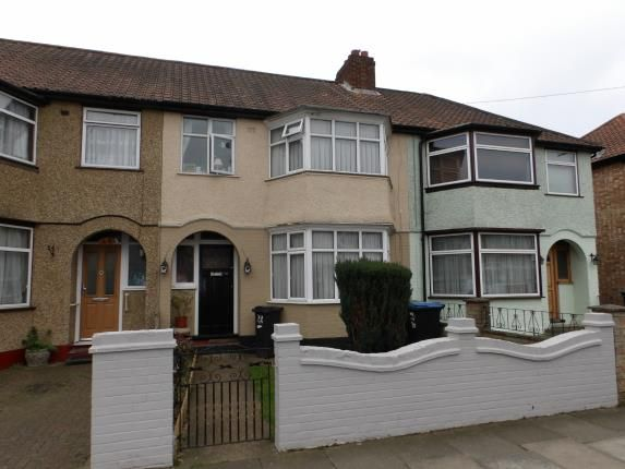 Thumbnail Terraced house for sale in Elmcroft Avenue, London