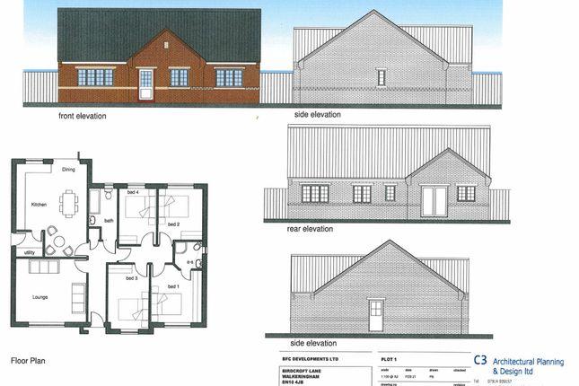 Thumbnail Detached bungalow for sale in Birdcroft Lane, Walkeringham, Doncaster