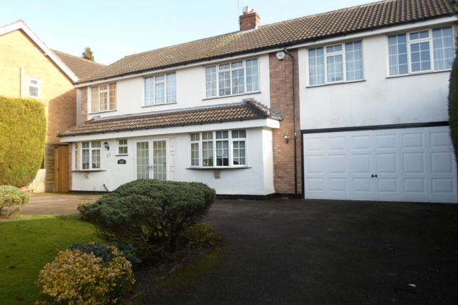 Thumbnail Detached house for sale in Launde Road, Oadby