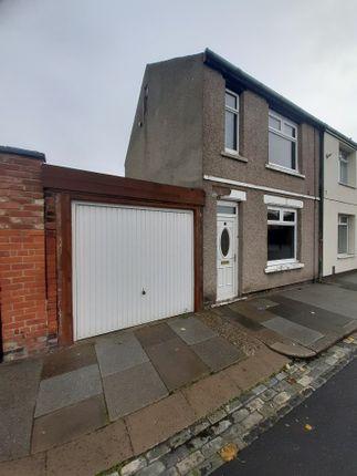 Thumbnail Terraced house to rent in Shrewsbury Street, Hartlepool
