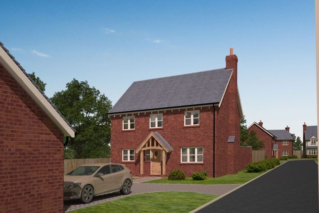 Thumbnail Detached house for sale in - The Drayton The Pastures, Tilstock, Whitchurch