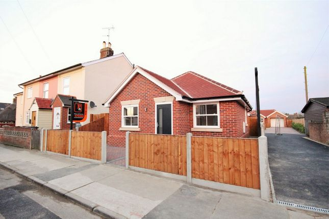 Thumbnail Detached bungalow for sale in Nayland Road, Mile End, Colchester, Essex