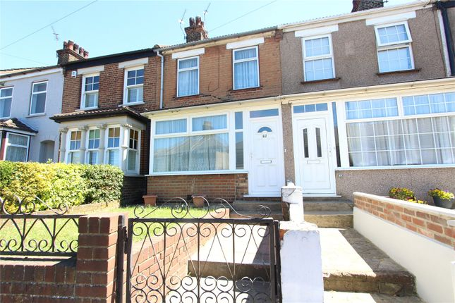 Thumbnail 3 bed terraced house to rent in Milton Street, Swanscombe, Kent
