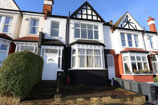 Thumbnail Terraced house to rent in Talbot Road, Alexandra Palace, London