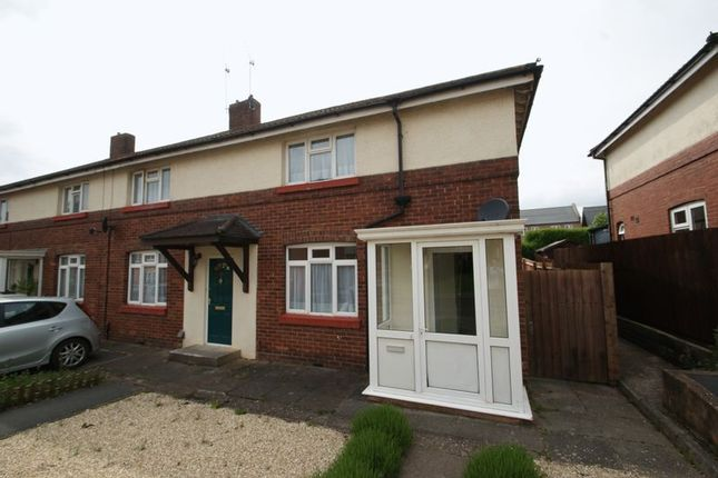 Thumbnail Semi-detached house to rent in Alice Templer Close, Barrack Road, Exeter