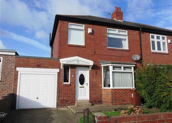 Thumbnail Semi-detached house for sale in Legion Road, Denton Burn, Newcastle Upon Tyne