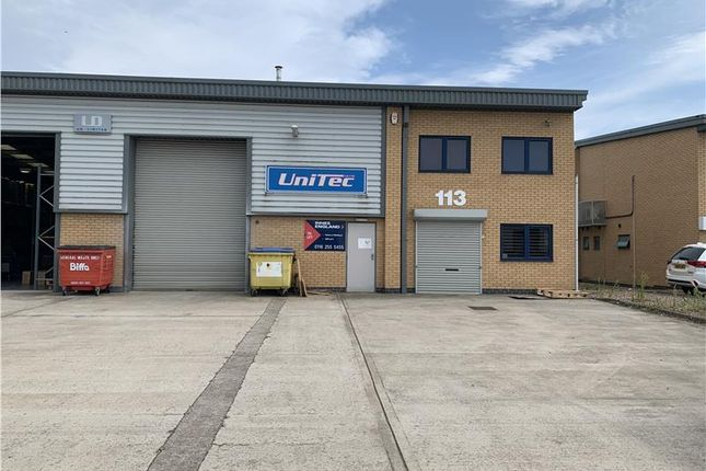 Thumbnail Industrial to let in Unit 113 The Burrows, East Goscote Industrial Estate, Leicester, Leicestershire