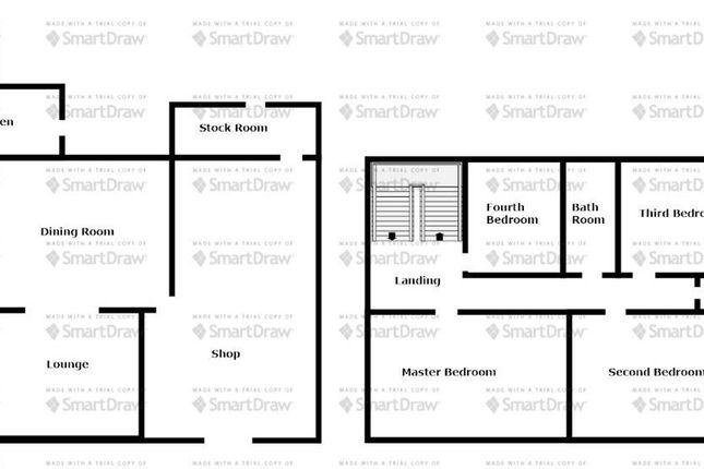 Floor Plan of Thorpe Road, Easington Village, County Durham SR8