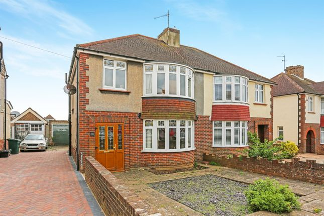 Thumbnail Semi-detached house for sale in Sunninghill Avenue, Hove