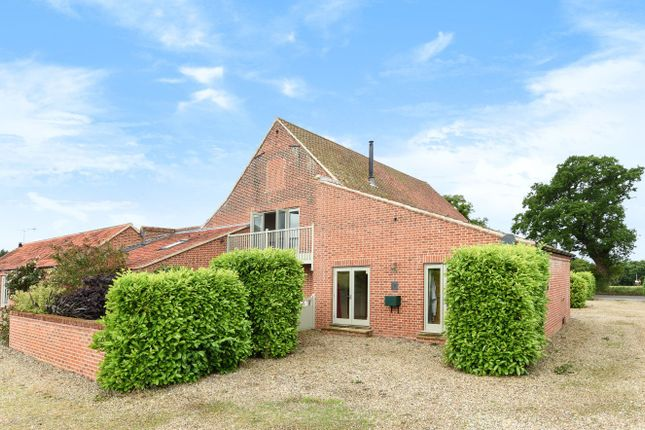 Thumbnail Barn conversion for sale in Dereham Road, Briningham, Melton Constable