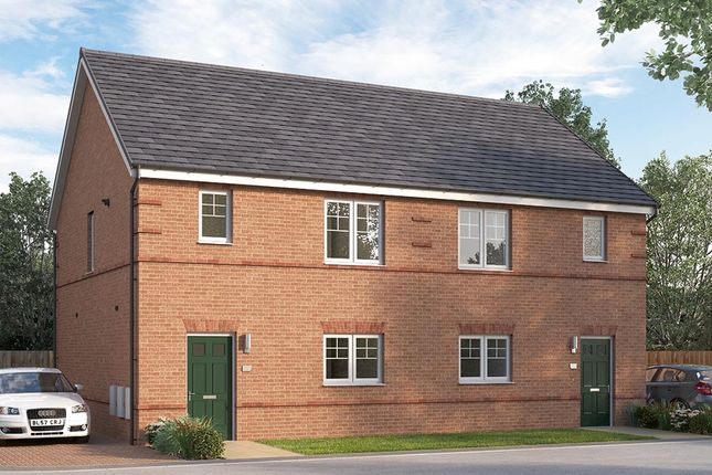 """3 bedroom terraced house for sale in """"The Queensbridge"""" at Chilton, Ferryhill"""