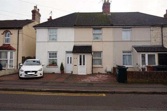 Thumbnail Terraced house for sale in Albemarle Road, Ashford