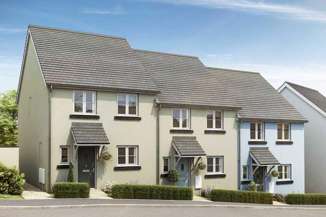 "Thumbnail 3 bedroom semi-detached house for sale in ""The Eveleigh A"" at Exeter Road, Newton Abbot"