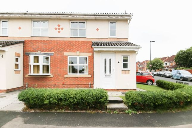 Thumbnail Semi-detached house for sale in Rylance Road, Winstanley, Wigan