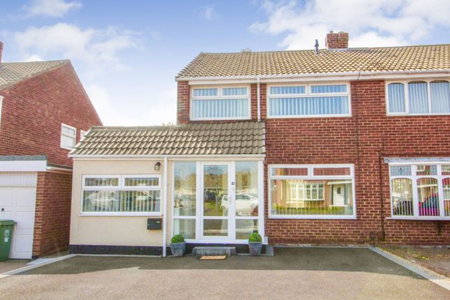 Thumbnail Semi-detached house for sale in Ruswarp Grove, Hartlepool