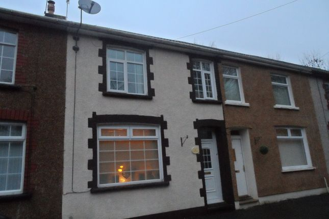 Thumbnail Terraced house to rent in King Charles Road, Newbridge, Newport
