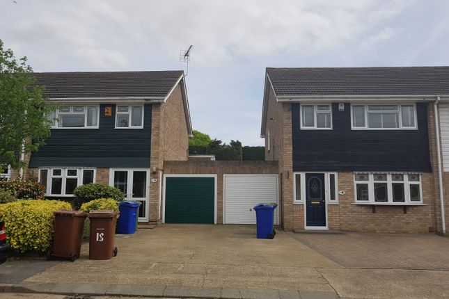 Thumbnail End terrace house to rent in Dartview Close, Grays, Essex