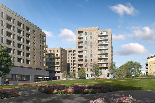 Thumbnail Flat for sale in Plot 137, Central Square Apartments, Acton Gardens, Bollo Lane, Acton, London