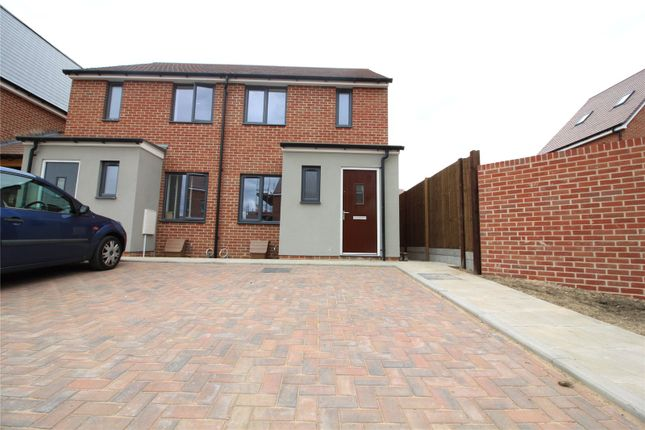 Thumbnail Semi-detached house to rent in Bailey Drive, Castle Hill, Ebbsfleet Valley, Swanscombe