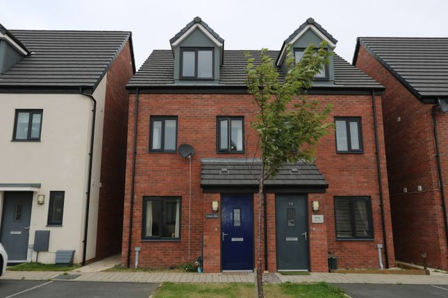 Thumbnail Terraced house for sale in Haven Walk, Barry