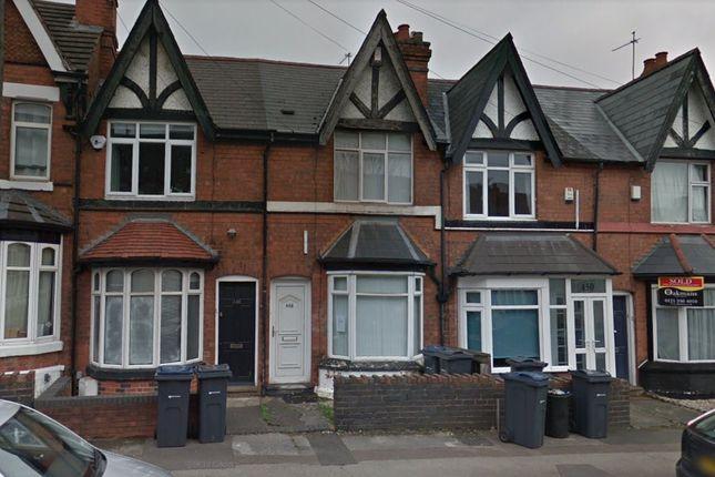 Terraced house for sale in Harborne Park Road, Birmingham, West Midlands