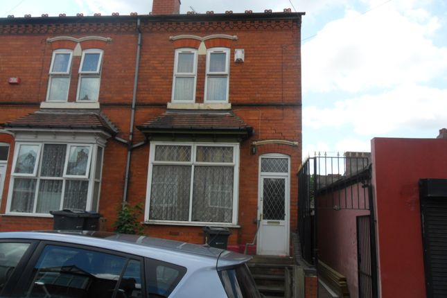Thumbnail Terraced house to rent in Leyton Road, Handsworth, Birmingham