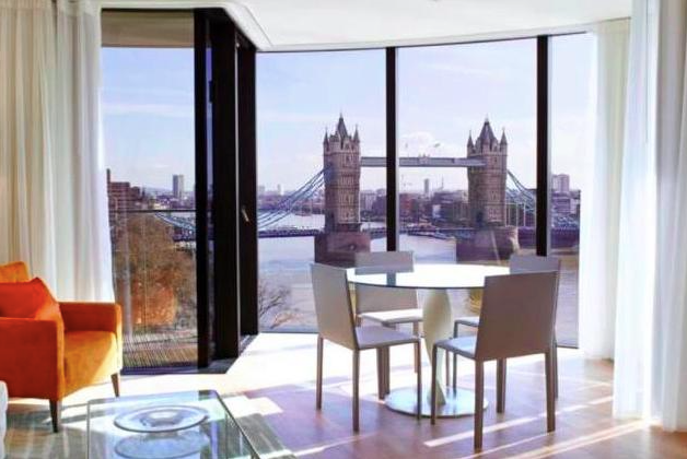Thumbnail Flat to rent in Cheval Three Quays, 40 Lower Thames Street, London