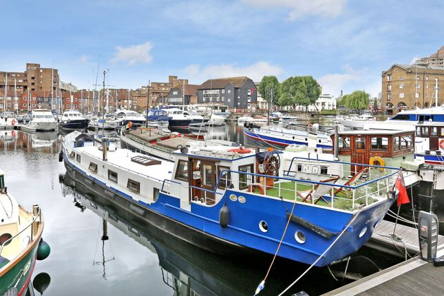 Thumbnail Houseboat for sale in St Katharine Docks Wapping, London