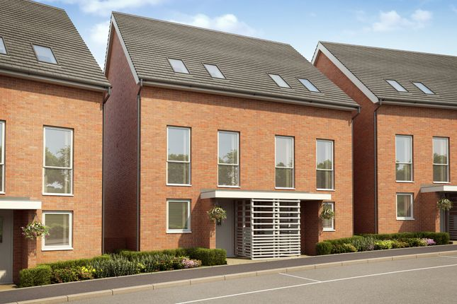 """Thumbnail End terrace house for sale in """"Atlee"""" at Temple Hill, Dartford"""