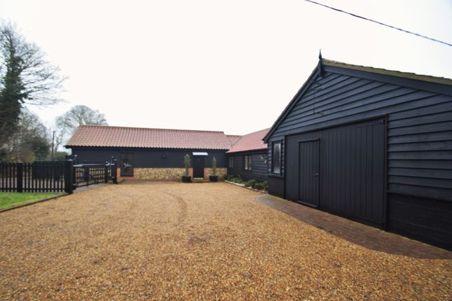 Thumbnail Barn conversion for sale in Moneypot Hill, Redgrave, Diss