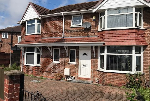 Thumbnail Detached house to rent in Orient Road, Salford