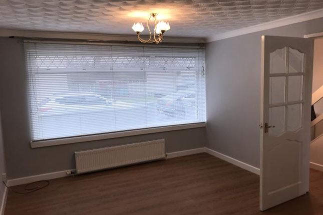 Thumbnail Terraced house to rent in Burnside Crescent, Shotts