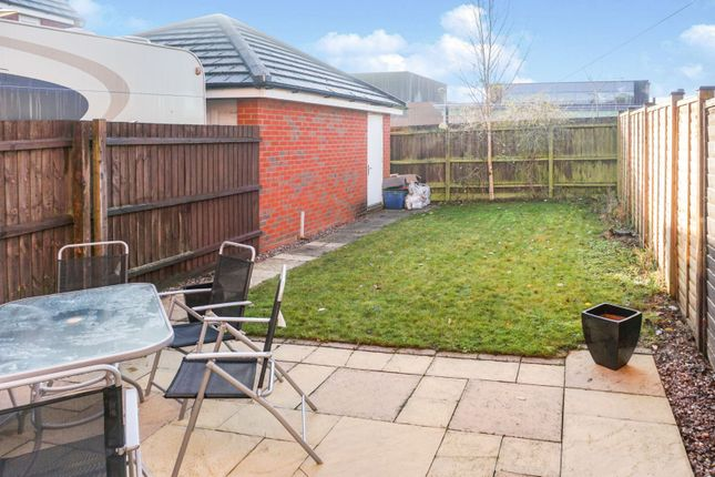 Rear Garden of Milburn Drive, Northampton NN5