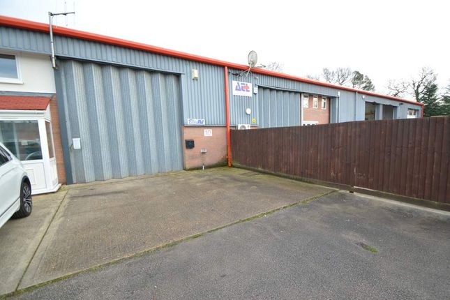 Thumbnail Warehouse to let in Unit 10, Ashley Heath Industrial Estate, Wimborne