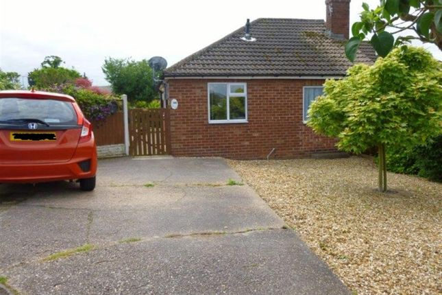 Thumbnail Semi-detached bungalow for sale in Mayflower Close, Gainsborough