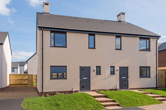 "Thumbnail Semi-detached house for sale in ""The Killerton"" at Waddeton Close, Paignton"