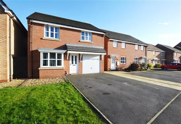 Thumbnail Detached house for sale in Great Row View, Wolstanton, Newcastle