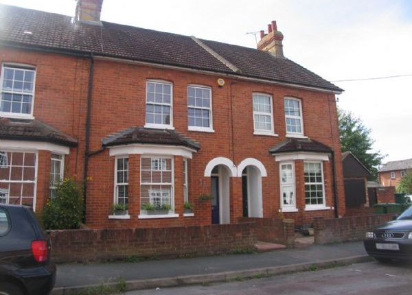 Thumbnail Terraced house to rent in Buckhurst Road, Frimley Green, Camberley
