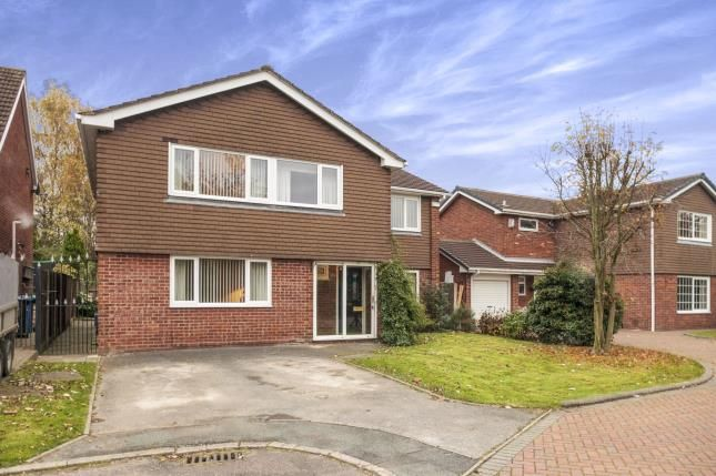 Thumbnail Detached house for sale in Ackerley Close, Warrington, Cheshire