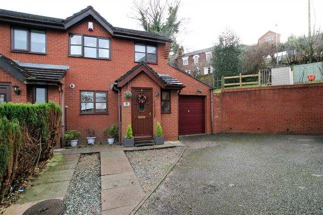 Thumbnail Semi-detached house for sale in Orchard Gardens, Leek