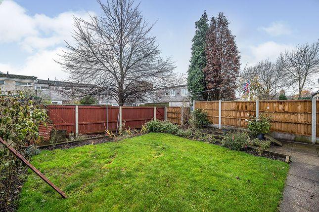 Rear Garden of Bearncroft, Skelmersdale, Lancashire WN8
