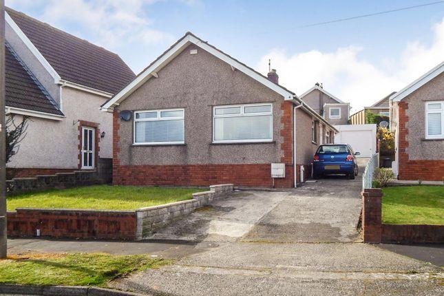 Thumbnail Detached bungalow for sale in Gelli Gwyn Road, Morriston, Swansea