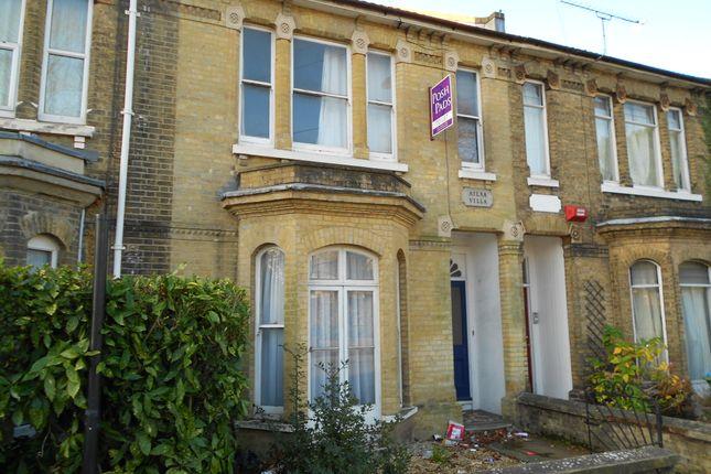 Thumbnail Terraced house to rent in Carlton Road, Southampton