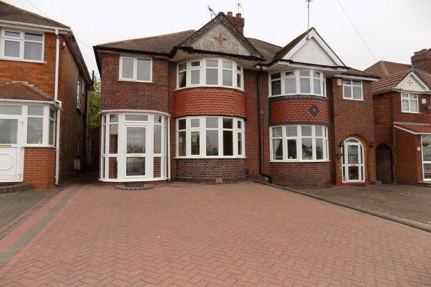 Thumbnail Semi-detached house to rent in Ridgacre Road, Quinton